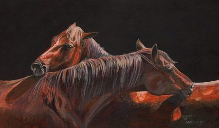 Painting by Diane M Anderson