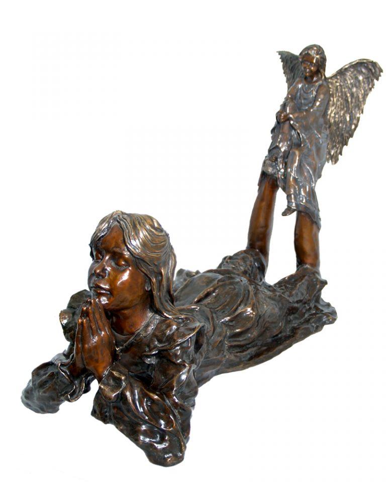 Bronze art by Diane M Anderson
