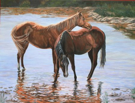 Original Painting By Diane M Anderson